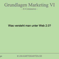 Grundlagen Marketing FernUni Hagen Karteikarte 1.3