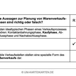 Grundlagen Marketing FernUni Hagen Karteikarte 2.4
