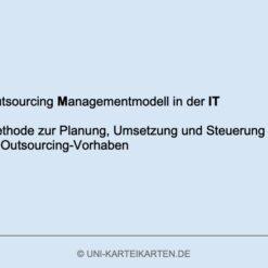 IT-Governance FernUni Hagen Karteikarte 1.2