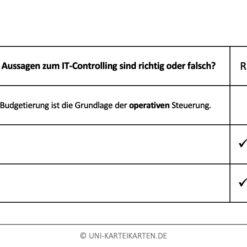 IT-Governance FernUni Hagen Karteikarte 2.4