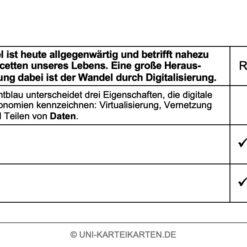 Verhalten in Organisationen FernUni Hagen Karteikarte 2.2
