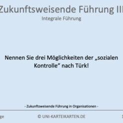 Zukunftsweisende Fuehrung FernUni Hagen Karteikarte 1.1