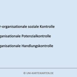 Zukunftsweisende Fuehrung FernUni Hagen Karteikarte 1.2