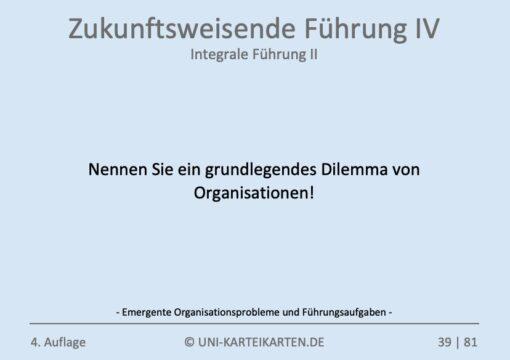 Zukunftsweisende Fuehrung FernUni Hagen Karteikarte 1.3