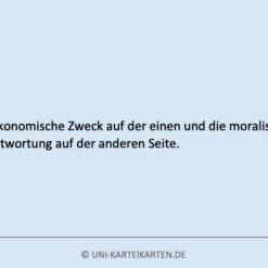 Zukunftsweisende Fuehrung FernUni Hagen Karteikarte 1.4