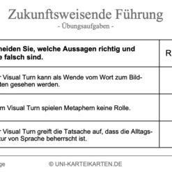 Zukunftsweisende Fuehrung FernUni Hagen Karteikarte 2.3