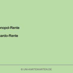 Strategisches Management FernUni Hagen Karteikarte 1.2