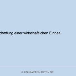 Unternehmensgruendung FernUni Hagen Karteikarte 1.2