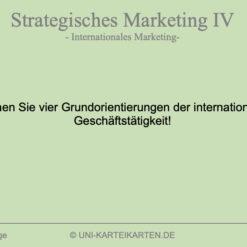 Strategisches Marketing FernUni Hagen Karteikarte 1.3