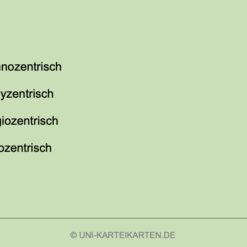 Strategisches Marketing FernUni Hagen Karteikarte 1.4