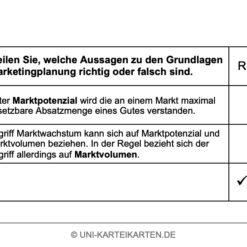 Strategisches Marketing FernUni Hagen Karteikarte 2.4